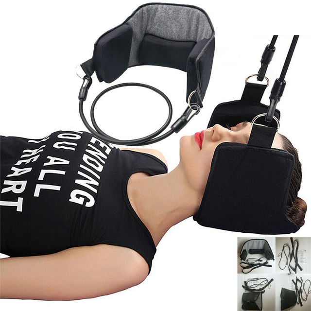 Neck Head For Pain Relief Cervical Hot Pain Relief Relaxing Neck Pillow Massager Hammock Home Office Neck Rest Pillows