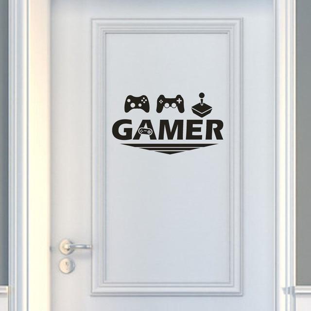 Gamer Home Decor Wall Sticker Decal Bedroom Vinyl Art Mural Wall