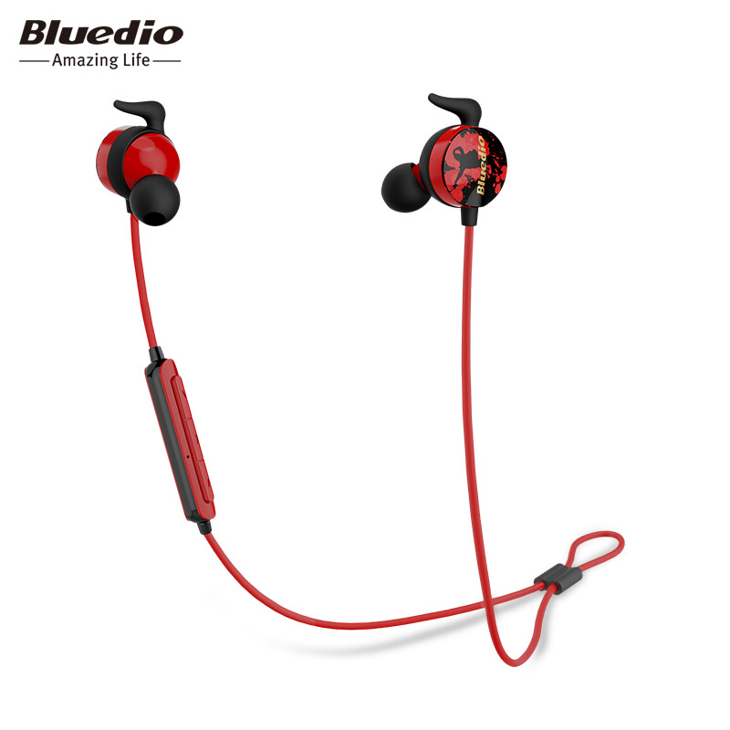 Bluedio Ai Sports bluetooth earphone in-ear earbuds with Built-in Mic BT 4.2 wireless sweat proof earphone for cell phones fumalon sports earphone running with mic for mp3 player mp4 mobile phones in ear earphone sound isolating earphone