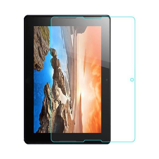 2016 más reciente tablet protector de cristal templado flim protector de pantalla para lenovo tab2 a10-70 10.1 pulgadas tablet pc