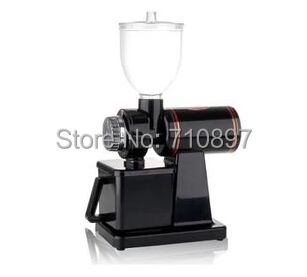 110V and 220V to 240V black color coffee grinder machine coffee mill with plug adapter
