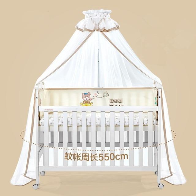 Prinzessin Mädchen Baby Krippe Moskito Netting, Runde Bett Baldachin  Vorhang Dome Moskito Net, Infant