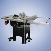 New 1500W Heavy Cast Iron Table Saw 10 Inch Push Table Saw Woodworking Saws DADO Slotting