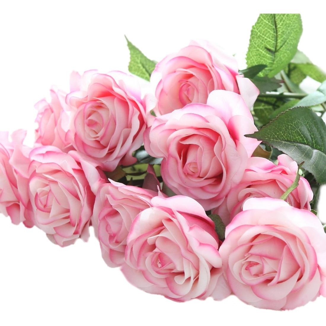 100 fuschia silk flowers best 25 fuschia wedding flowers fuschia silk flowers compare prices on pink floral bouquets online shopping buy low dhlflorist Gallery