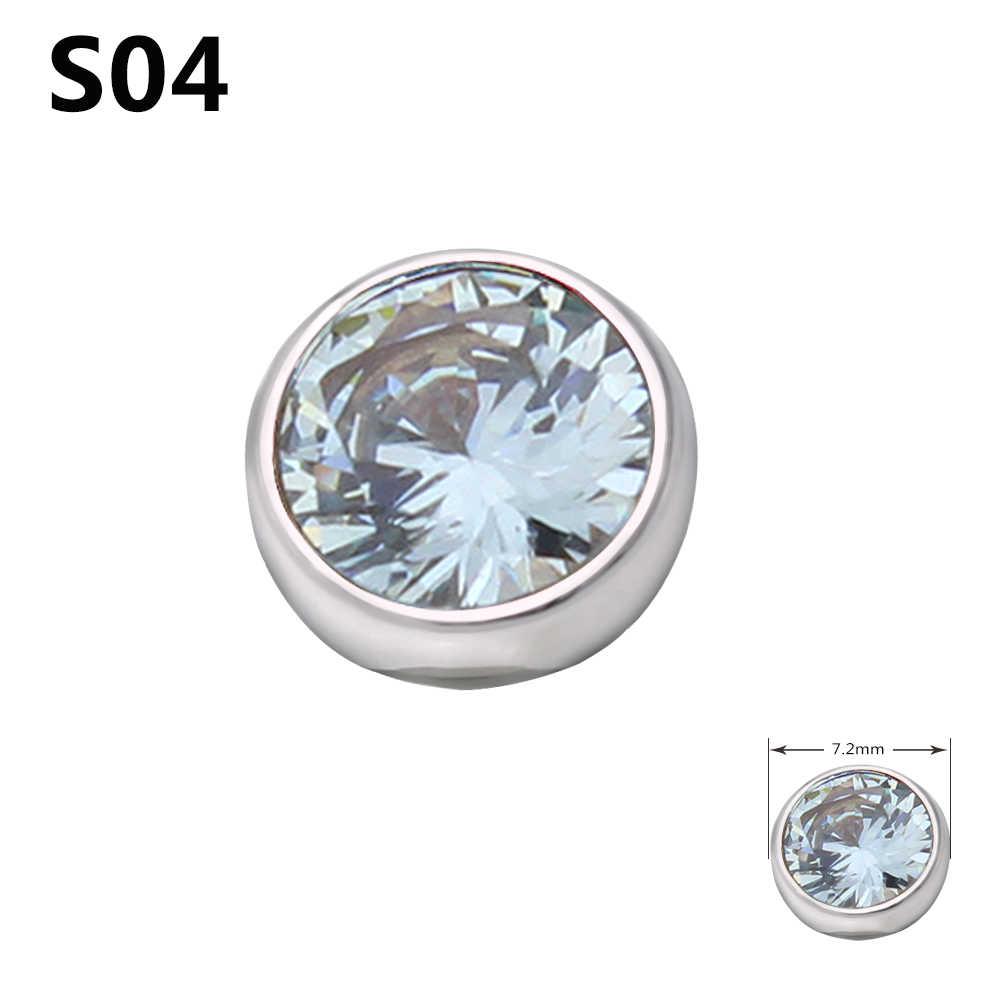 Joyería de moda novedosa, accesorios de cabeza de anillo trenzado zetting, 14 colores, circón, puede elegir ME003
