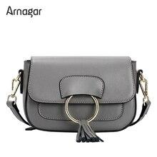 Arnagar bolsas de luxo mulheres sacos de designer de alta qualidade genuína bolsas de couro pequenos sacos de mulheres mensageiro 2017 sacos de senhora ombro
