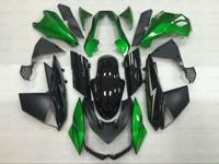 Bodywork For Kawasaki Z1000 2011 Abs Fairing Z 1000 2012 2010 2013 STREET EDITION Green Black