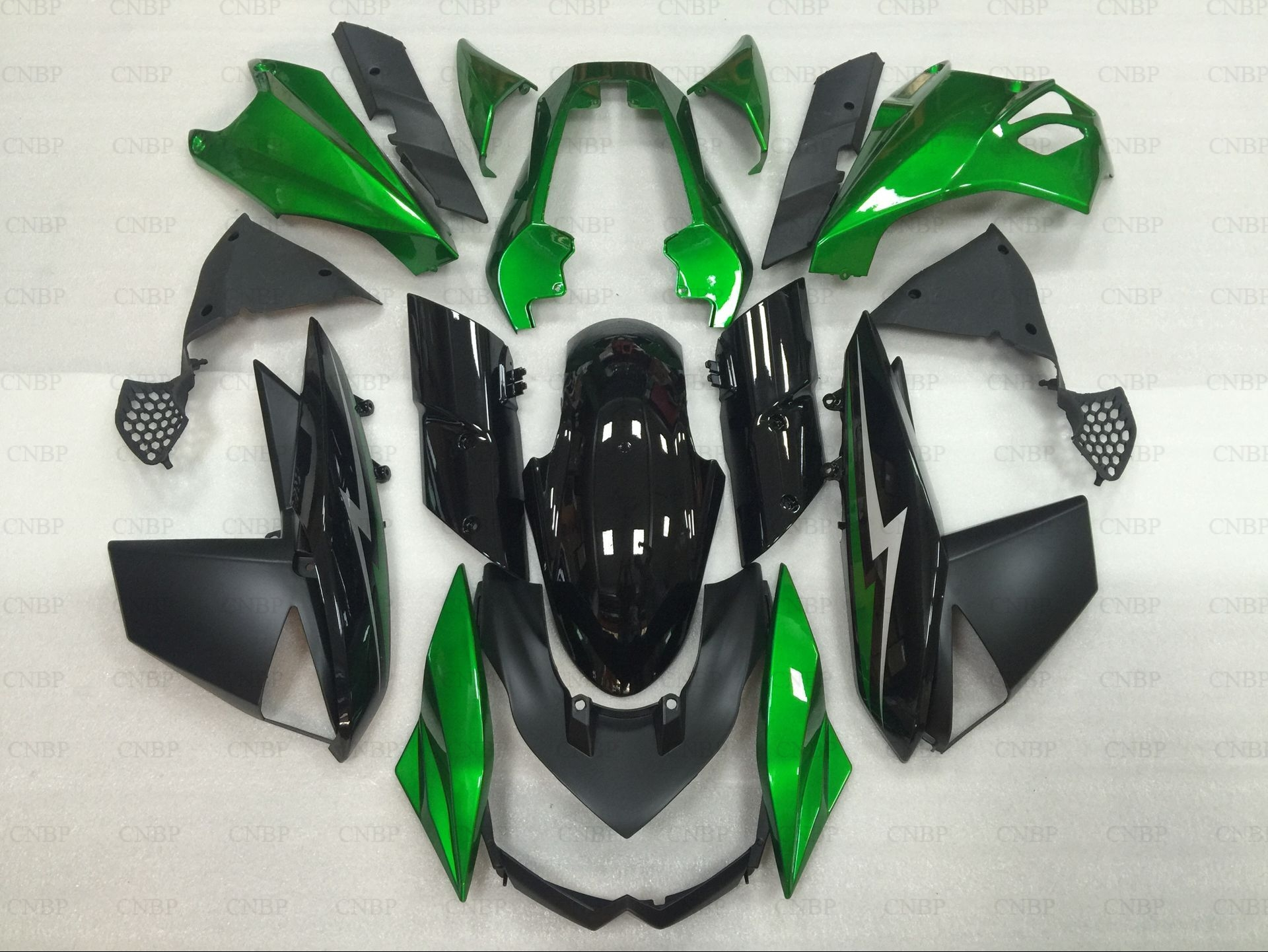 Bodywork for Kawasaki Z1000 2011 Abs Fairing Z 1000 2012 2010 - 2013 STREET EDITION Green Black Fairing for Kawasaki Z1000 12 13 kawasaki k 062 green 45