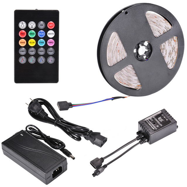 Color Changing Led Light Strips Cool LumiParty Color Changing LED Strip Lighting 60M 60leds RGB SMD 600600