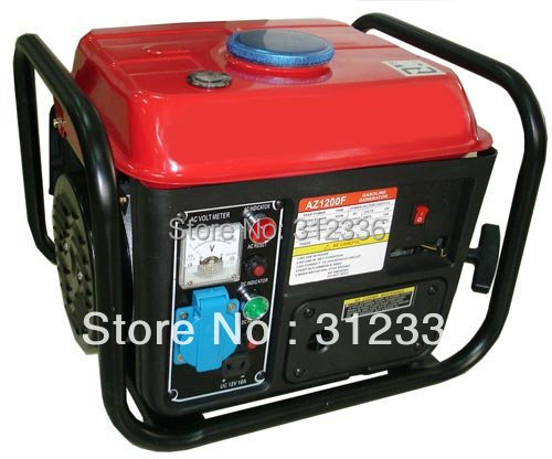 Sea shipping petrol generator capacitor start 2 stroke 50:1 450W 550W 600W 700W 800W 900W withframe