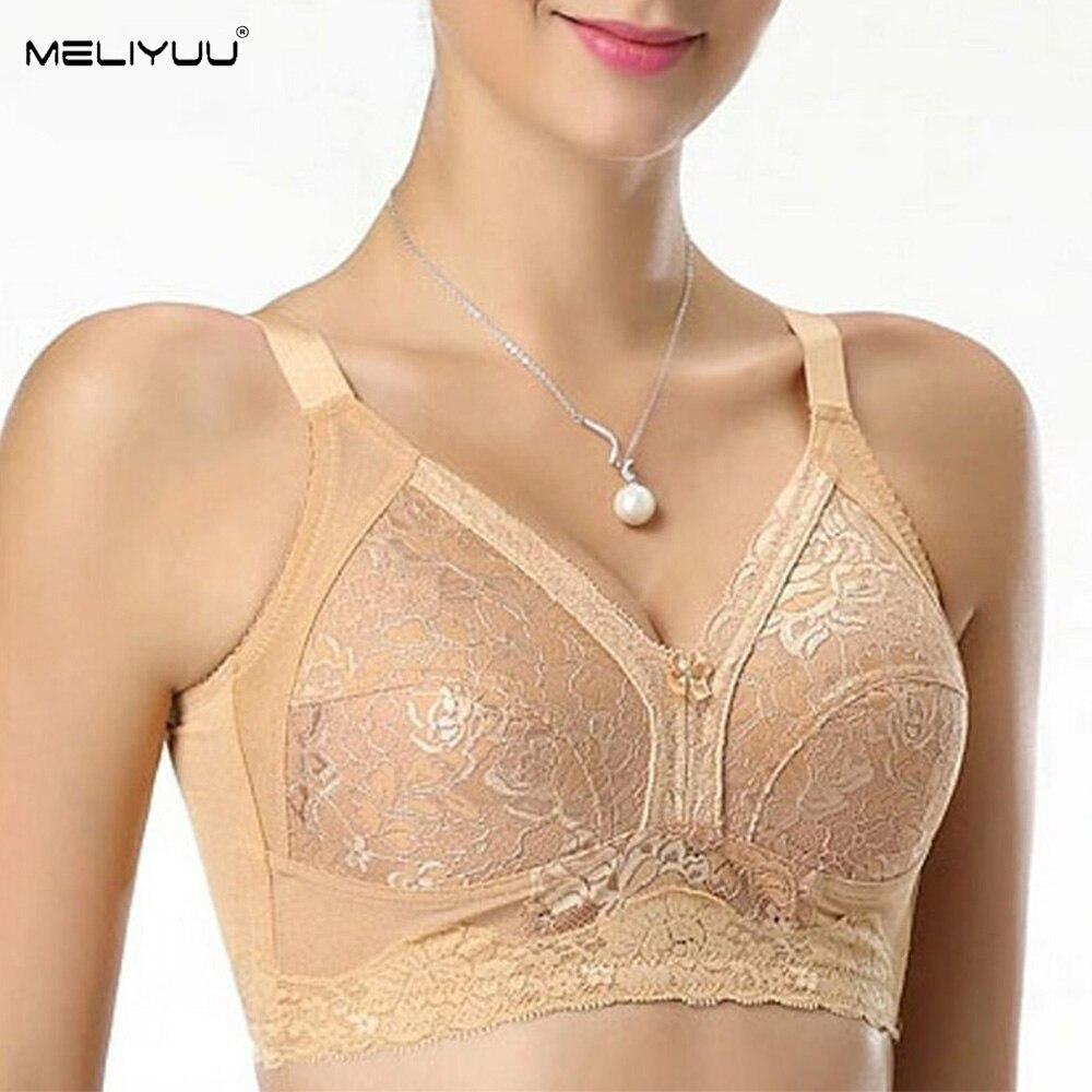 Новые бюстгальтеры с большой грудью для женщин, кружевные бюстгальтеры без подкладки для бралет без подкладки, сексуальное нижнее белье ра...