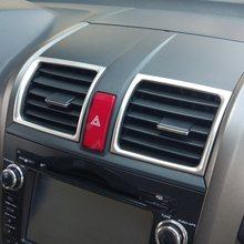 Крышка рамы из нержавеющей стали для Honda CRV, 3rd gen 2007, 2008, 2009, 2011