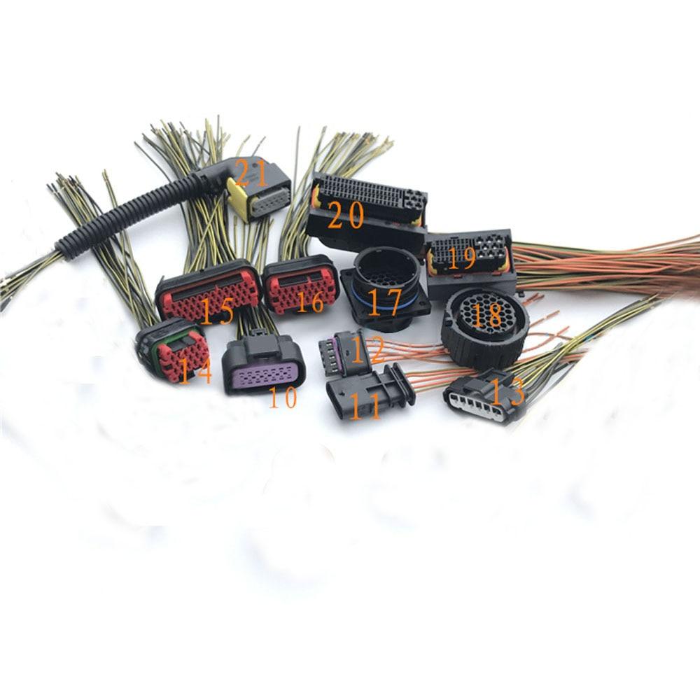hight resolution of detail feedback questions about 1pc car nitrogen oxygen sensor plug exhaust gas processing plug sockets for mazda mitsubishi cummins 12 types optional on
