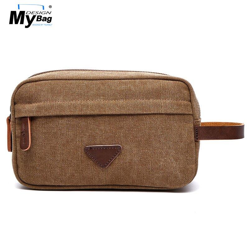 DESIGN MYBAG Casual vászon táska férfiaknak Solid Mini Utazás táska ... 65a98bc763