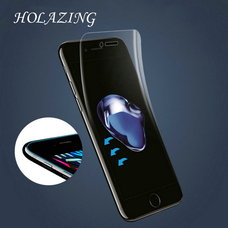 HOLAZING New Soft Clear Transparent Silicone TPU Screen