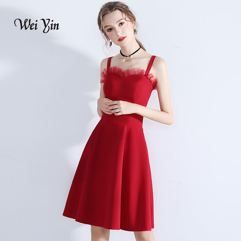 weiyin New Elegant   Cocktail     Dresses   Women A-Line Sleeveless Short Casual Vintage Party   Dresses   WY814