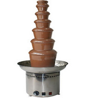 7 Tier 103cm Full Stainless Steel Commercial Chocolate Fountain Fondue Machine CF701 Chocolate Waterfall Machine Free