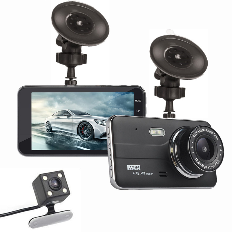 4.0 inch LCD Screen Dash Camera 12MP Car DVR Recorder Night Vision Motion Detection Loop Recording Dashcam Support 32G TF Card4.0 inch LCD Screen Dash Camera 12MP Car DVR Recorder Night Vision Motion Detection Loop Recording Dashcam Support 32G TF Card