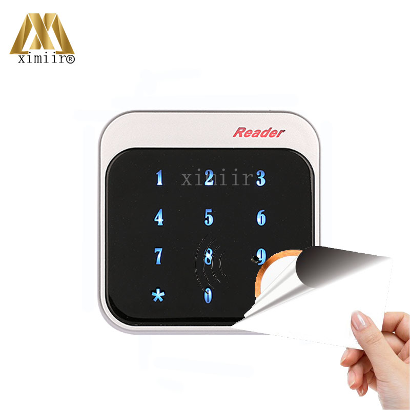 New Arrived ZK R352M IP65 Waterproof Wiegand Card Access Reader 13.56KHZ IC Card Reader With Keypad For Access Control System f3 finger pin free shipping fingerprint access control reader with keypad waterproof structure design ip65 waterproof