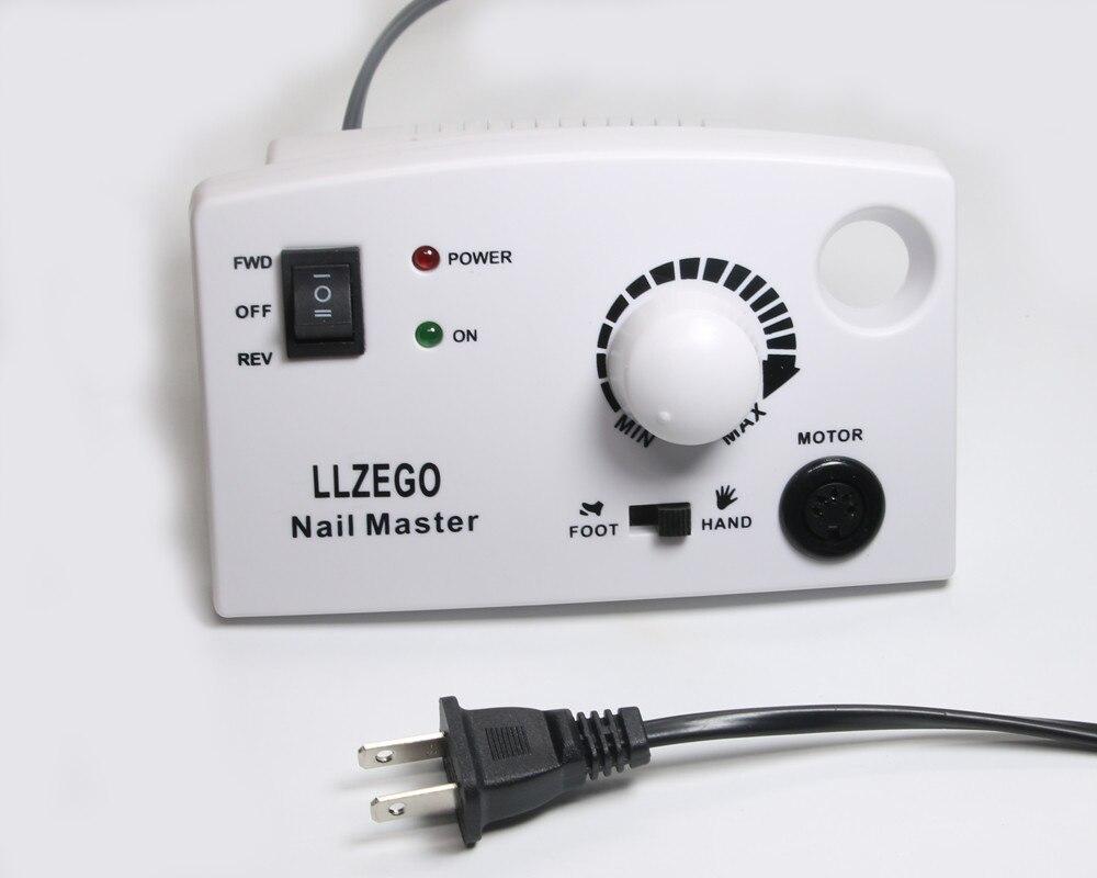 30000RPM 25W Pro Electric Nail Drill Machine File Pedicure Manicure ...