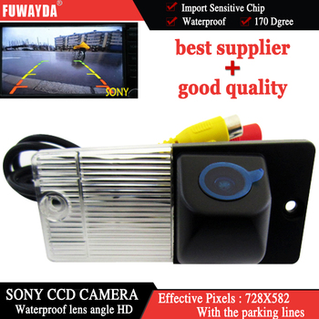 FUWAYDA For SONY CCD Chip Car RearView Reverse Backup Parking DVD GPS Navigation Kits CAMERA for Cerato KIA CERATO WATERPROOF HD image
