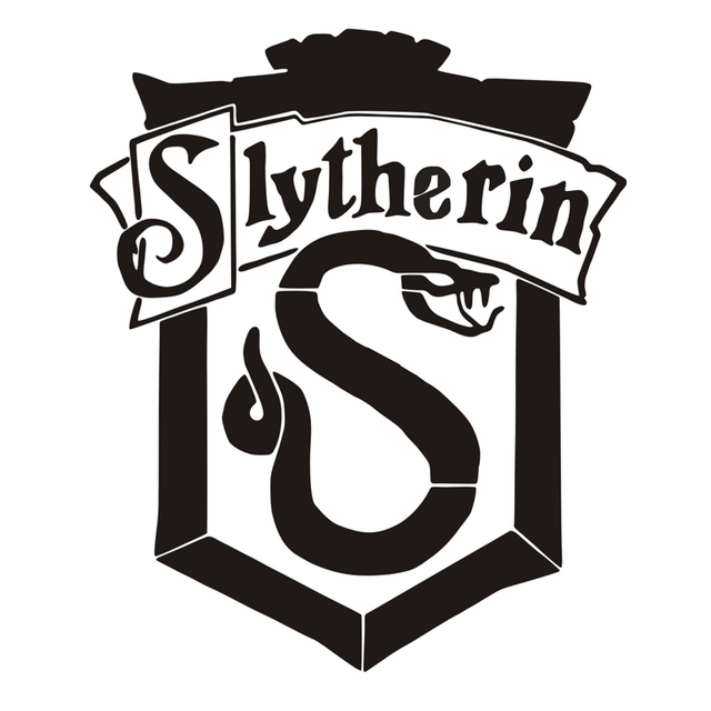Creative 3d Wall Stickers Harry Potter Slytherin Crest Art Decal For Kids Bedroom  Decor Vinyl Wall. Creative 3d Wall Stickers Harry Potter Slytherin Crest Art Decal