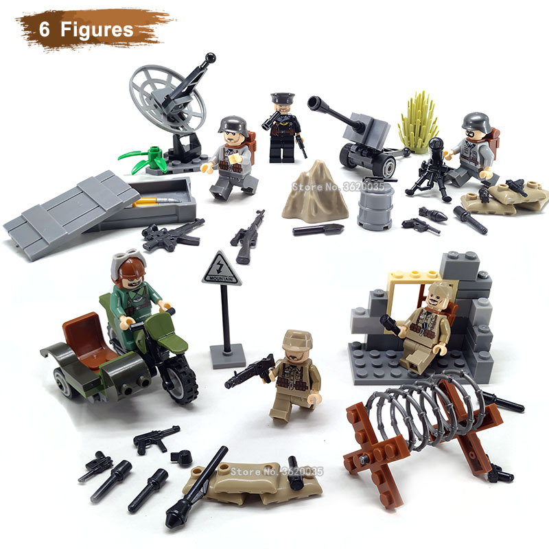 LEGO Weapon Cavalry Army Canon on Wheels w// Ram Rod Minifig