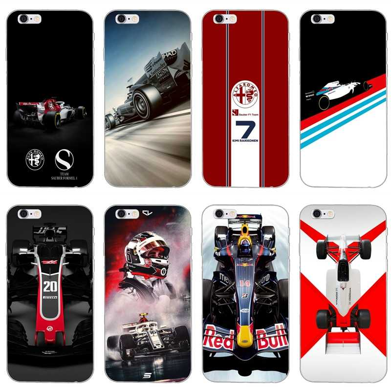 For Huawei Mate 20 10 lite pro 9 8 Y9 Y7 Y6 prime Y5 Y3 II GR5 2017 2018 2019 case Formula 1 Cars Vehicles Soft phone cover