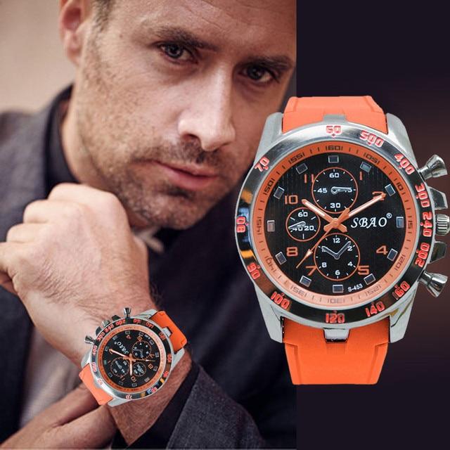 Mens Sports Watches Relogio Masculino 2018 Hot Sale Men Silicone Strap Quartz Watch Reloj S Shockproof Electronic Wristwatch 1