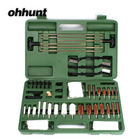 ohhunt 62 Piece Tactical Hunting Universal Gun Cleaning Kit Supplies For Air Gun Rifle Pistol Shot~Gun Free Shipping