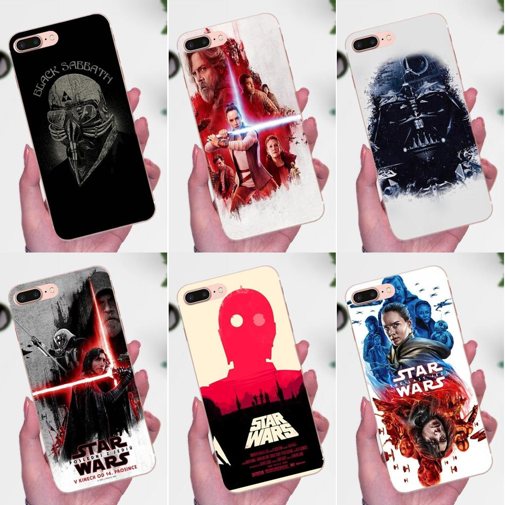 TPU Phone Cases <font><b>Star</b></font> <font><b>Wars</b></font> The Last Jedi For <font><b>Xiaomi</b></font> <font><b>Redmi</b></font> <font><b>Note</b></font> 2 3 3S 4 4A 4X 5 5A <font><b>6</b></font> 6A <font><b>Pro</b></font> Plus image