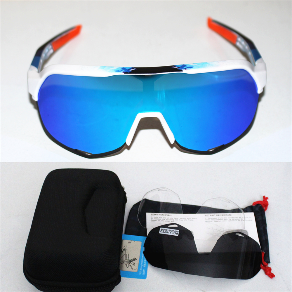 Marca s2 polarizado esportes ao ar livre óculos de sol mtb mountain bike equitação ciclismo óculos peter gafas