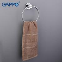 Gappo 1 Set Modern Style Gold Ring Wall Mount Towel Ring Bathroom Accessories Bath Towel Holder
