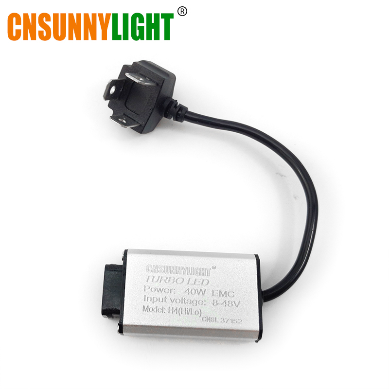 T1 Car LED Light Driver Ballast Ignition H4 H7 H1 H11 H8 9005 9006 9004 9007 H13 Plug 35W/40W 8-48V for CNSUNNYLIGHT Headlights