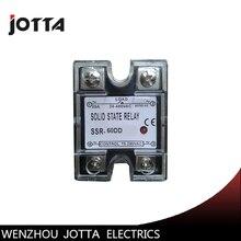 лучшая цена SSR -60DD-H DC control DC SSR Single phase Solid state relay 220V