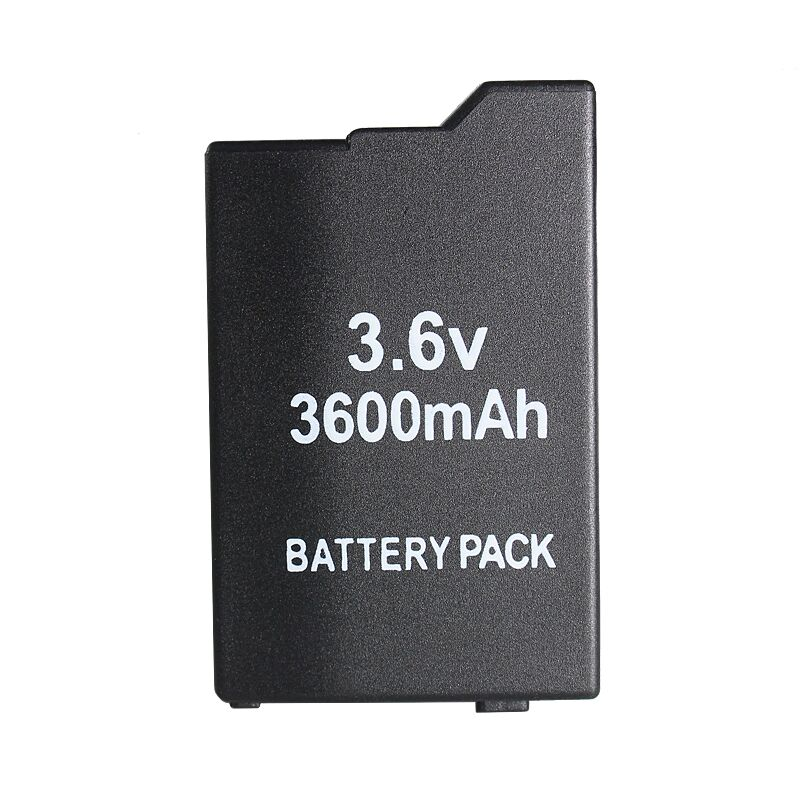 Accessoires de jeu avec PSP Batterie avec 3600 mAh Pour SONY Lite, PSP 2ème, PSP-2000, PSP-3000, PSP-3004, Silm Livraison Gratuite