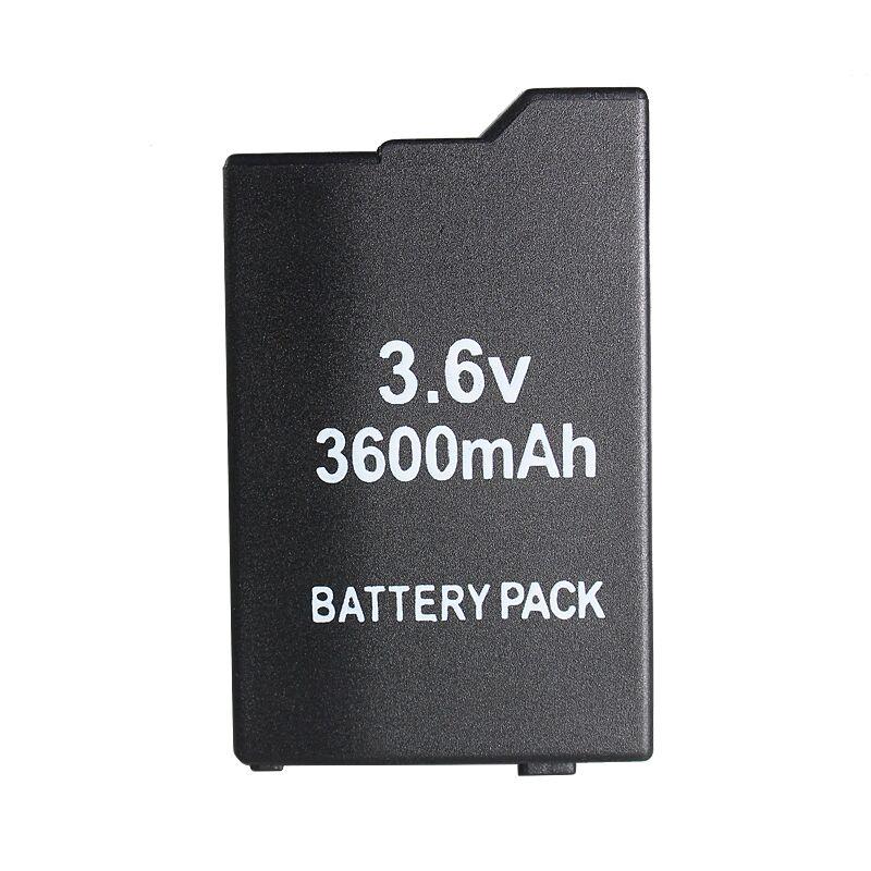 Blackhorns accessoires de jeu pour PSP Batterie avec 3600 mah Pour SONY Lite, PSP 2th, PSP-2000, PSP-3000, PSP3001, PSP Silm Livraison Gratuite