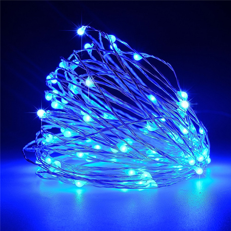 10m 100LED LED String Lights Festival Christmas Garland Lights Decoration House Decor Wedding Lights Fairy lights Art Decor
