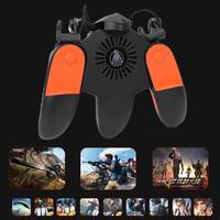 Trigger Phone Controller Fire Button Gamepad Soft Glue Is Cold And Slippery Joysticks for PUBG w/Cooling Fan 190mm*155mm*65mm