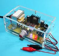 DIY Kit LM317 Adjustable Regulated Voltage Step Down Power Supply Suite Module Free Shipping