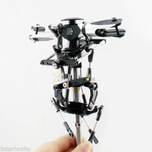 GARTT 500 flybar Metal Main Rotor Head Set for Trex 500 Helicopter part