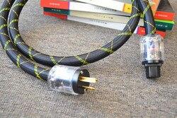 MUZISHARE OFHCX US standardowy kabel zasilający HIFI EXQUIS czysta OFHC miedziany