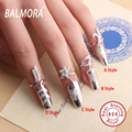 4 Styles New Hot 100% Pure 925 Sterling Silver Jewelry Fashion Fingernail Rings for Women Party Wedding Gifts Wholesale JWHTR001
