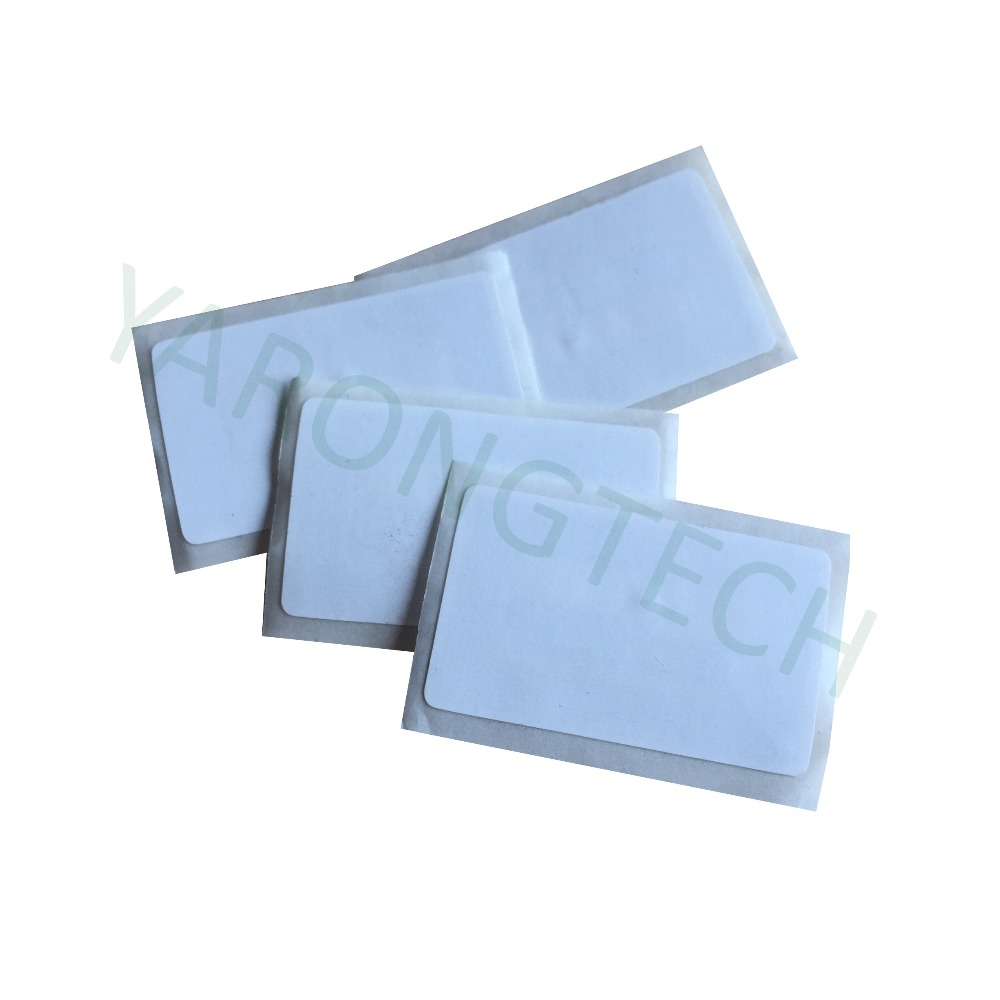 10pcs NFC Sticker 41x25mm Rectangle 13.56MHz RFID Label 1k Access Control Label For NFC Android Phone