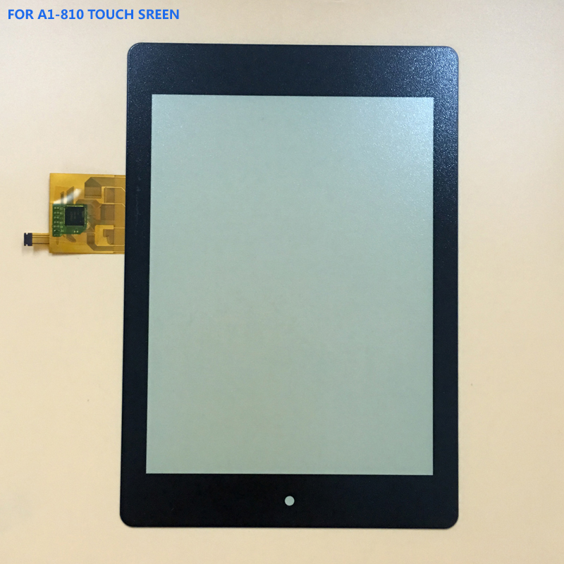 100% Test Black For Acer Iconia Tab A1 A1-810 A1-811 A1 810 Front Touch Screen Digitizer Panel Glass Sensor test good new 7 9inch touch screen panel digitizer outside screen replacement for acer iconia a1 a1 810 a1 810 a1 811 tablet pc