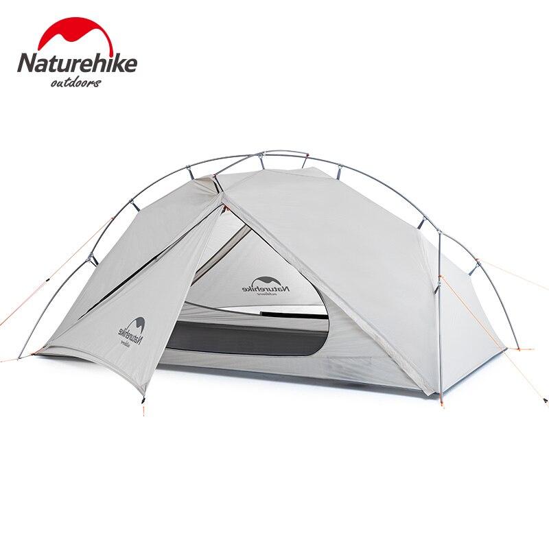 Naturehike VIK Serie открытый одиночный тент ультра светильник 0,93 кг 15D нейлон Кемпинг Туризм снег непромокаемый портативный алюминиевый тент - 2