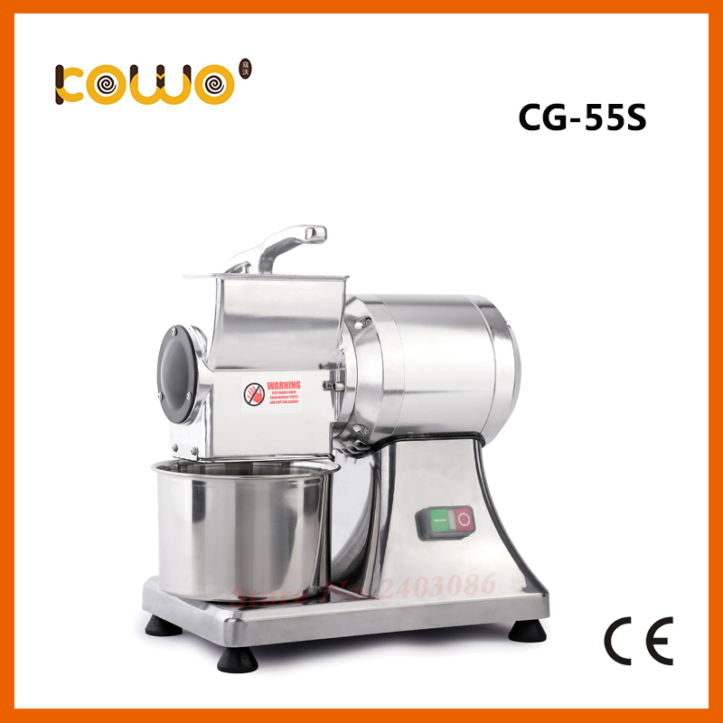 ce RoHS 40kg/h electric cheese grater 220V kitchen chopper slicer machine single head Stainless steel roller food processors blomus 63565 cheese grater