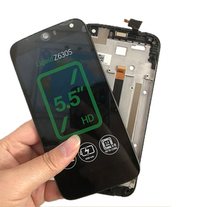 Image 2 - BKparts Tested For Acer Liquid Z630 Z630S LCD Display Touch Screen Glass Digitizer With Frame Liquid Z630 Z630S LCD Assembly