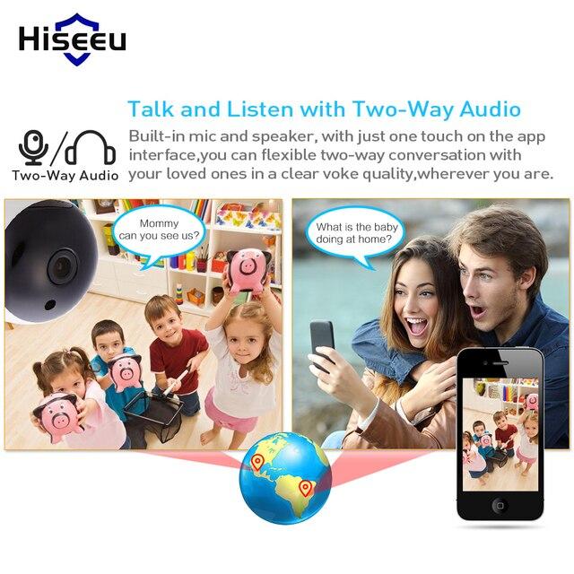 WI-FI Audio Record Surveillance Baby Monitor HD Mini CCTV Camera 1