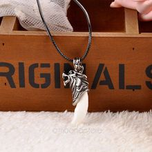 Real Looking Wolf Tooth Necklace